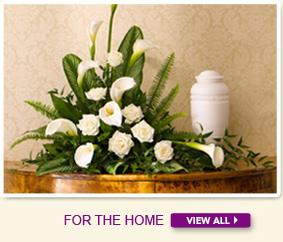 Sympathy Flowers for the home from In Bloom