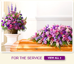 Funeral Flowers for the Service delivered by In Bloom