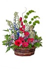 Serene Angel Flower Basket