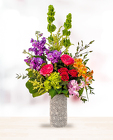 GARDEN GATE VASE ARRANGEMENT